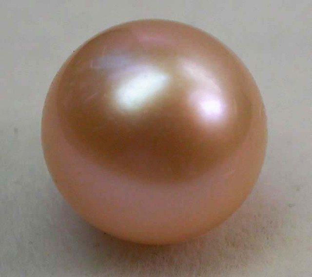 AAA GRADE ROUND PEARL  HIGH LUSTER- 9-10  MM [PF2258]