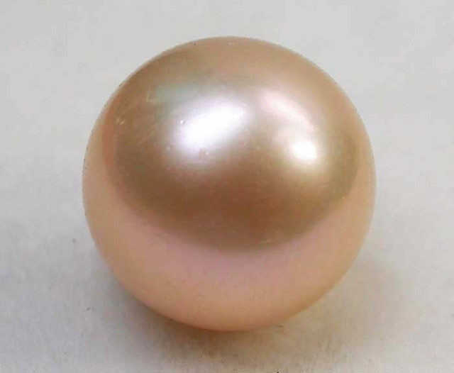 AAA GRADE ROUND PEARL  HIGH LUSTER- 9-10  MM [PF2259]