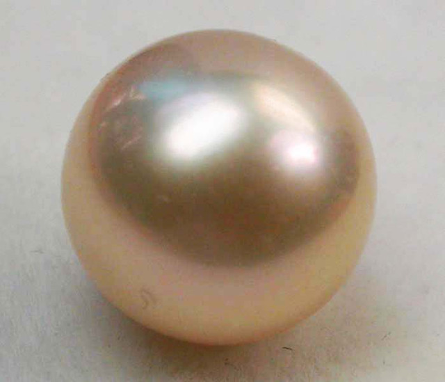 AAA GRADE ROUND PEARL  HIGH LUSTER- 9-10  MM [PF2263]
