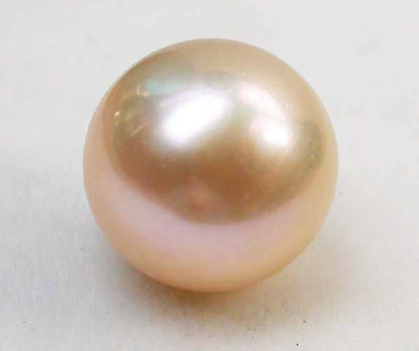 AAA GRADE ROUND PEARL  HIGH LUSTER- 9-10  MM [PF2266]