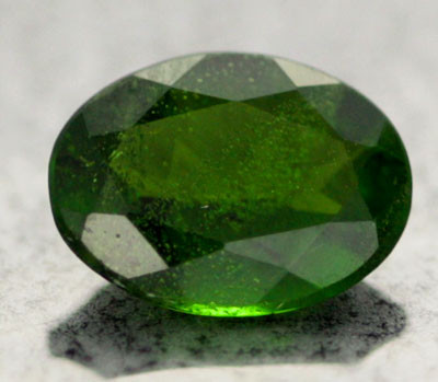 1.05 CTS CHROME DIOPSIDE FROM RUSSIA  8x6   [S6345 ]