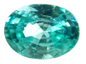 BLUE ZIRCON FACETED STONE 2 CTS PG-1027