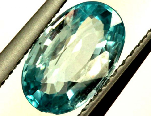 BLUE ZIRCON FACETED STONE 2 CTS  PG-1011