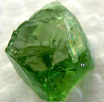 TOURMALINE FACETING ROUGH 3.90 CTS TBG-2012