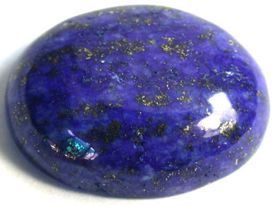 LARGE A GRADE LAPIS FROM AFGHANISTAN 43.4 CTS GW 1113