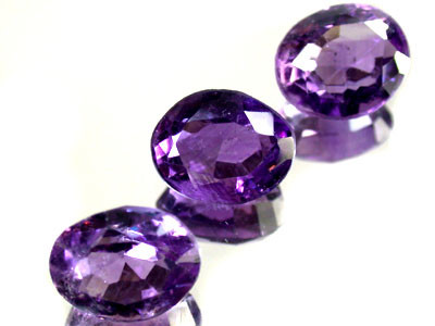 PARCEL 3PCS AMETHYST FROM AFGHANISTAN 19.9 CTS GW 1151