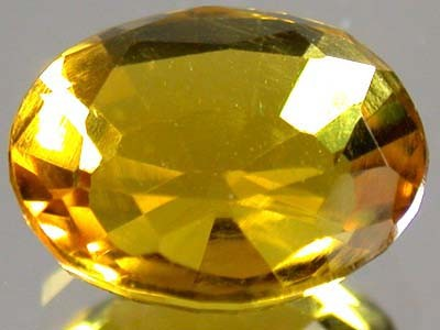 GOLDEN TOPAZ SUN GOLD FROM AFGHANISTAN 4.7 CTS GW 1266