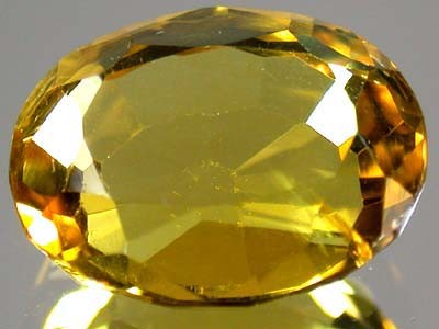 GOLDEN TOPAZ SUN GOLD FROM AFGHANISTAN 6 CTS GW 1301