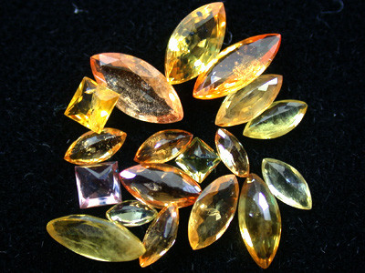 PARCEL FACETED YELLOW SAPPHIRES 4.30 CARATS GW 1670