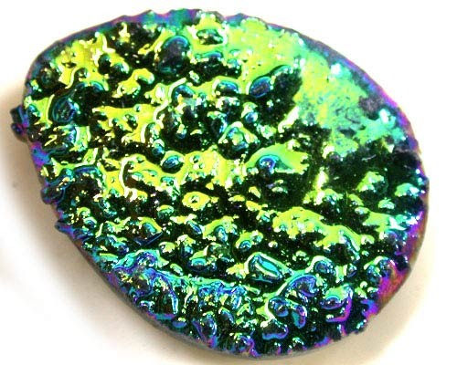 COLOURFUL DRUSSY STONE   34.6CTS [MGW 483 ]