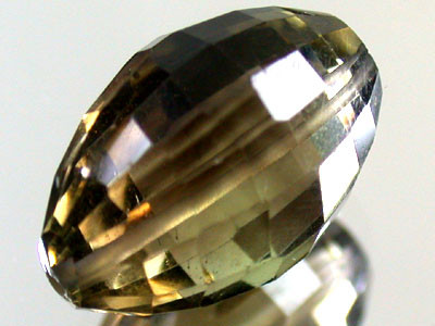 BI COLOUR BLACK & GOLD AMETERINE BEAD 13.5    CTS GW 1804