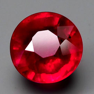 2.19 Carat VVS/VS Pinkish Red Ruby - Gorgeous Fiery Gemstone