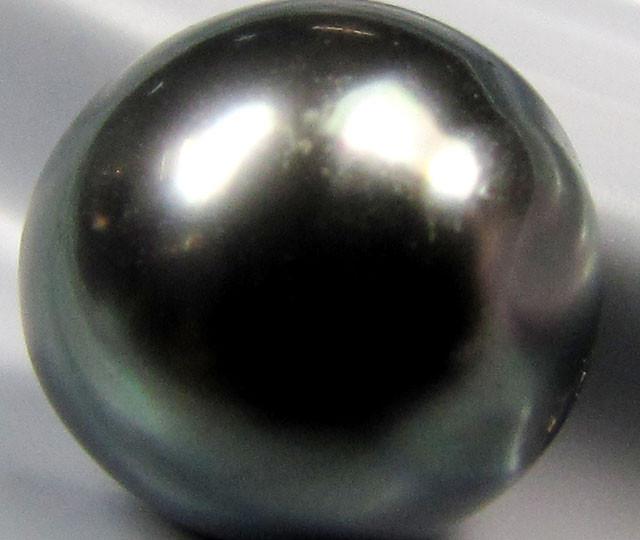 BLACK GRADED  TAHITIAN PEARL 5.65  CTS  RT 26