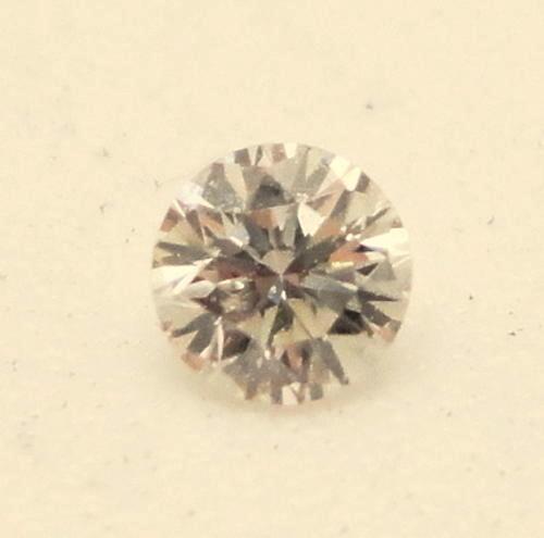 NAT-LIGHTPINK DIAMOND-4.6MMSIZE-0.35CTWSIZE-1PCS,NR