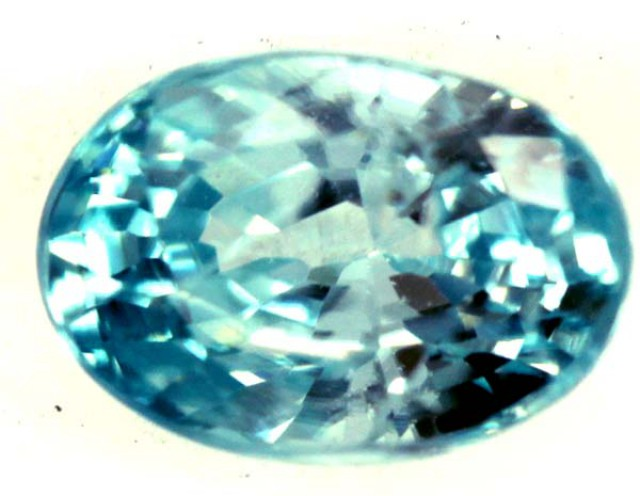 BLUE ZIRCON FACETED STONE 0.95 CTS  PG-1373
