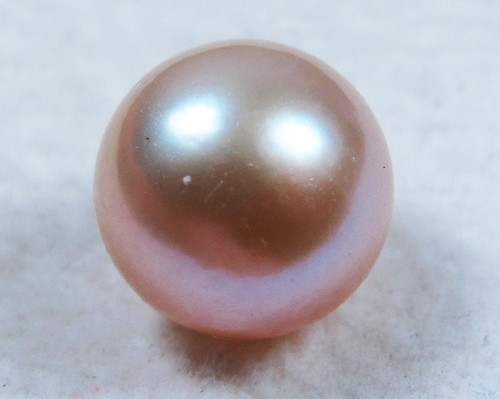 AAA GRADE ROUND PEARL  HIGH LUSTER- 9-10  MM [PF2269]