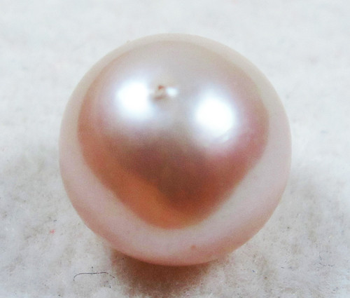 AAA GRADE ROUND PEARL  HIGH LUSTER- 9-10  MM [PF2273]