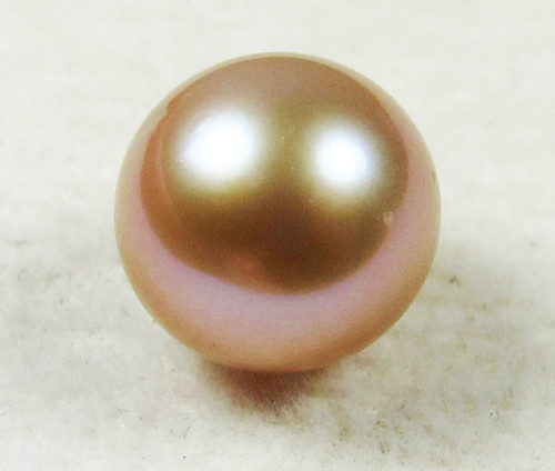 AAA GRADE ROUND PEARL  HIGH LUSTER- 9-10  MM [PF2288]