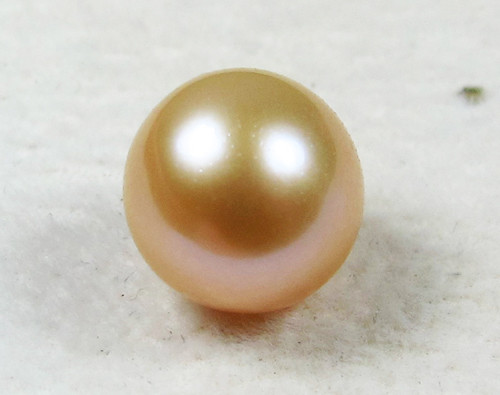 AAA GRADE ROUND PEARL  HIGH LUSTER- 9-10  MM [PF2293]