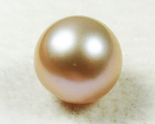 AAA GRADE ROUND PEARL  HIGH LUSTER- 9-10  MM [PF2299]