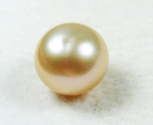 AAA GRADE ROUND PEARL  HIGH LUSTER- 9-10  MM [PF2301]