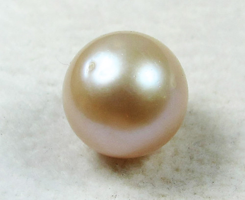 AAA GRADE ROUND PEARL  HIGH LUSTER- 9-10  MM [PF2304]