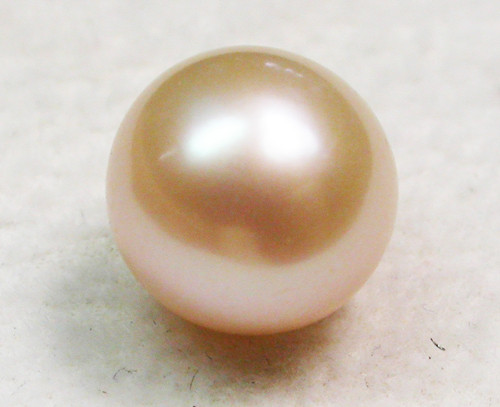 AAA GRADE ROUND PEARL  HIGH LUSTER- 9-10  MM [PF2308]