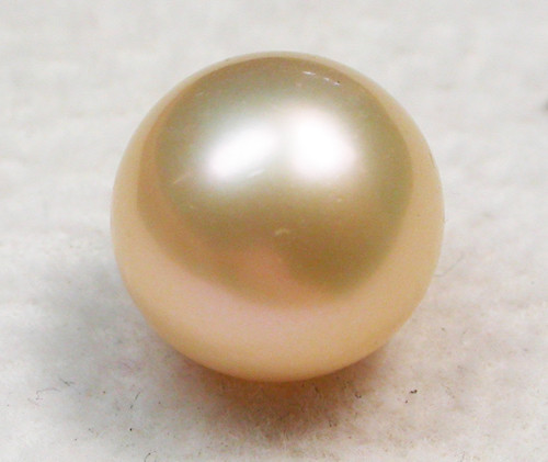 AAA GRADE ROUND PEARL  HIGH LUSTER- 9-10  MM [PF2316]