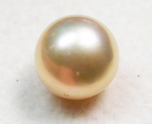AAA GRADE ROUND PEARL  HIGH LUSTER- 9-10  MM [PF2322]