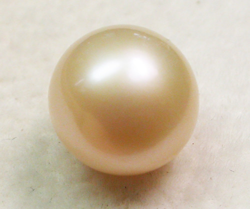AAA GRADE ROUND PEARL  HIGH LUSTER- 9-10  MM [PF2323]