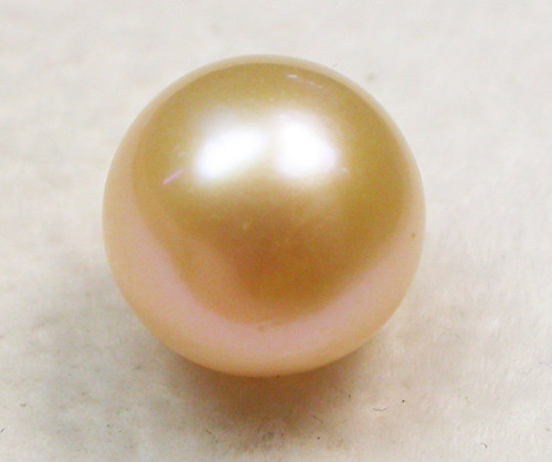 AAA GRADE ROUND PEARL  HIGH LUSTER- 9-10  MM [PF2326]