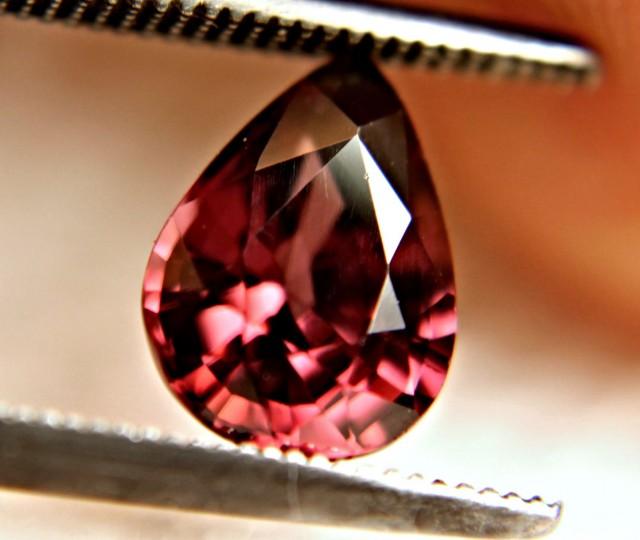 2.27 Carat VVS1 Raspberry Zircon - Beautiful Gemstone