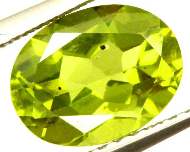 PERIDOT FACETED STONE 2.10 CTS  PG-1017