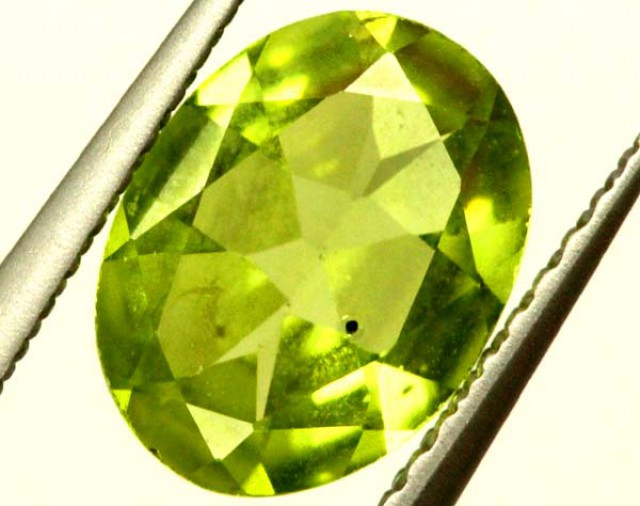 PERIDOT FACETED STONE 1.40 CTS  PG-1016