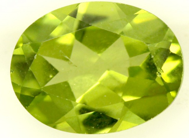 PERIDOT FACETED STONE 1.80 CTS PG-859