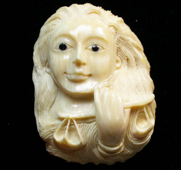 55.90 CTS MAMMOTH  FOSSIL IVORY CARVINGS [MGW453]