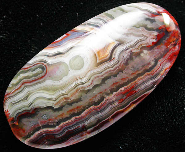 106.65 CTS TOP GRADE CRAZY AGATE POLISHED  STONE    [MGW505]