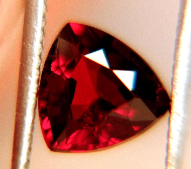 2.13 Carat Spessartite Garnet - Trillion Cut Beauty