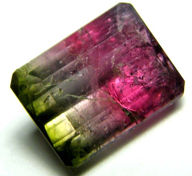 3.69 CTS  TOURMALINE FACETED STONE PG-1847