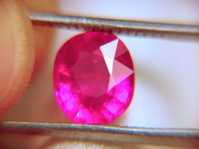 2.91 Carat P2 Reddish Pink Ruby - Gorgeous Gem