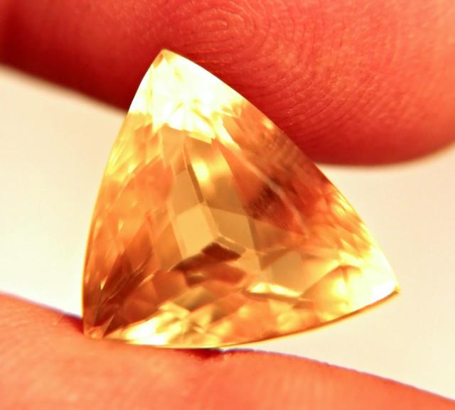 13.96 Carat VVS1 Calcite Beauty - Flashy, Fiery, Gorgeous