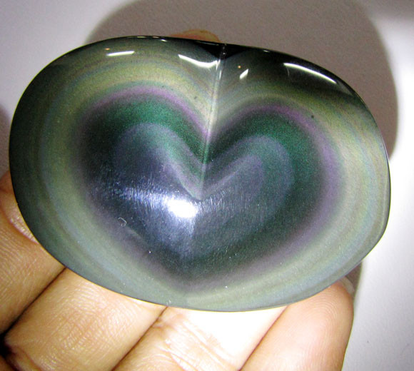 MEXICAN CHATOYANT OBSIDIAN  183 CARATS  RT 617