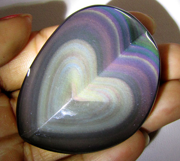 MEXICAN CHATOYANT OBSIDIAN  205 CARATS  RT 618