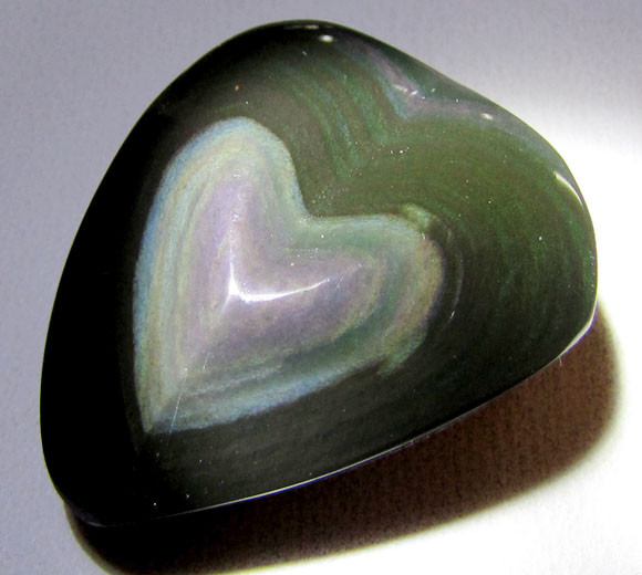MEXICAN CHATOYANT OBSIDIAN 40.5 CARATS  RT 626