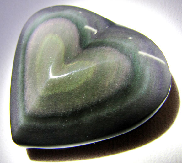 MEXICAN CHATOYANT OBSIDIAN 35.8 CARATS  RT 630