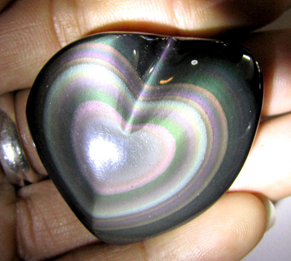MEXICAN CHATOYANT OBSIDIAN  138 CARATS  RT 621