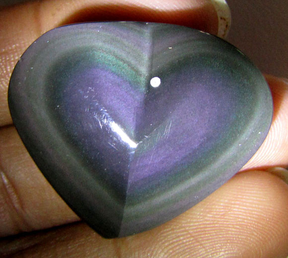 MEXICAN CHATOYANT OBSIDIAN  188 CARATS  RT 634