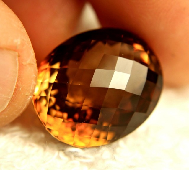 CERTIFIED - 30.69 Carat IF South America Topaz - Gorgeous