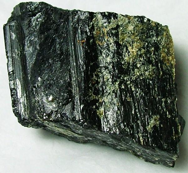 84gms Natural Afghanistan Black Tourmaline Rough R122