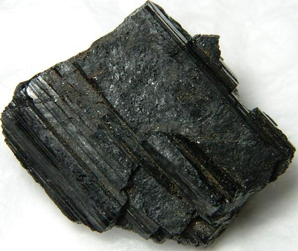77gms Natural Afghanistan Black Tourmaline Rough R129